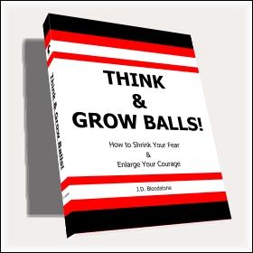 Think & Grow Balls! Original Cover Design